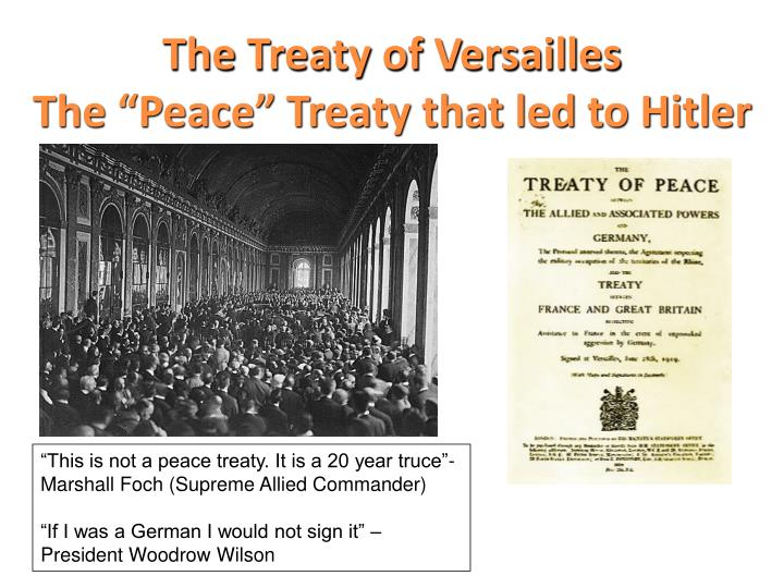 a report on the treaty of versailles and the league of nations The treaty of versailles was a treaty the league of nations was an organization a treaty is an agreement defining a cessation of hostility it is essentially a contract, one which specifies the benefits and drawbacks to each side for acceptin.