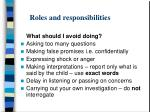 roles and responsibilities4