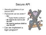 secure api1