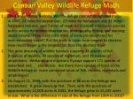 canaan valley wildlife refuge math