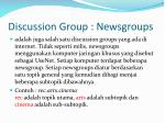 discussion group newsgroups