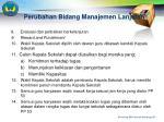 perubahan bidang manajemen lanjutan2