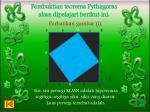 pembuktian teorema pythagoras akan dipelajari berikut ini