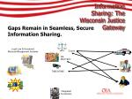 information sharing the wisconsin justice gateway