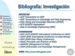 bibliograf a investigaci n