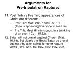 arguments for pre tribulation rapture5