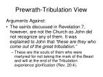 prewrath tribulation view1