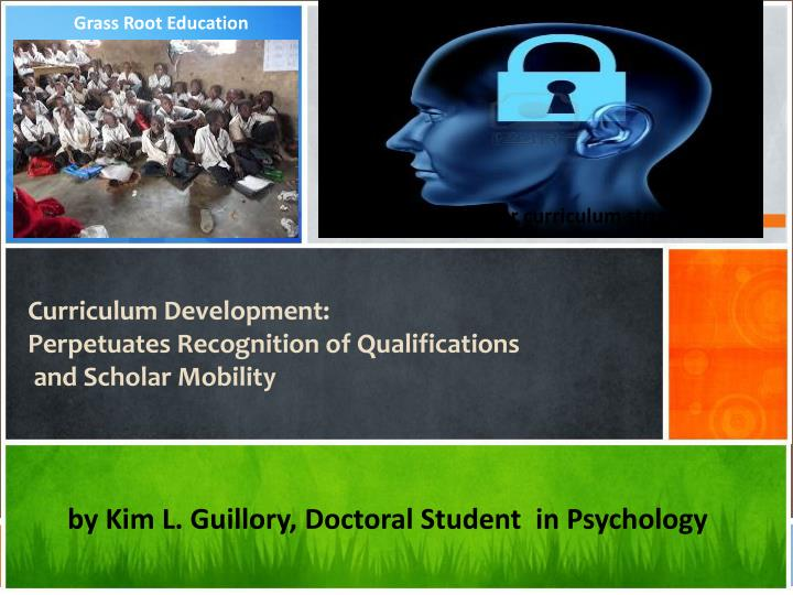 curriculum development perpetuates recognition of qualifications and scholar mobility n.
