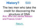history 500