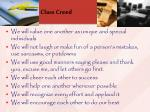 class creed