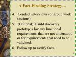 a fact finding strategy1