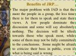 benefits of jrp3