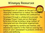 winangay resources