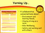 yarning up