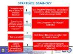 strategie diagnozy