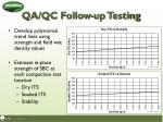 qa qc follow up testing1