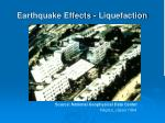 earthquake effects liquefaction