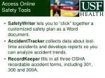 access online safety tools
