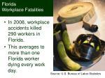 florida workplace fatalities