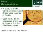 florida workplace injuries