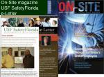 on site magazine usf safetyflorida e letter