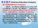 business education compacts1