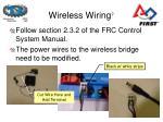 wireless wiring