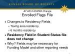 ay 2012 kspsd change enrolled flags file