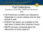 fall collections comparison of fall prelim kheer and fall census1