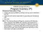 kheds change ay 2012 program inventory pi