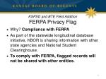 kspsd and bte field addition ferpa privacy flag2