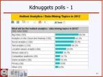 kdnuggets polls 1