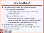 why data mining