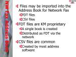 nw fax address book1