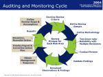 auditing and monitoring cycle