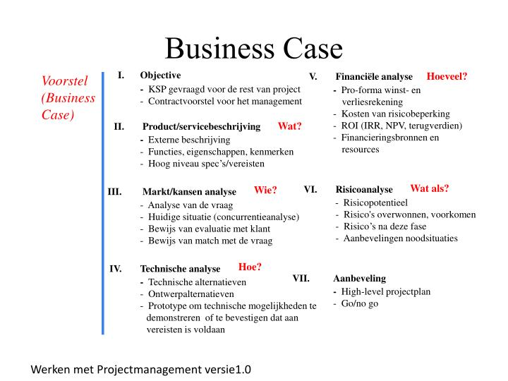 business case n.