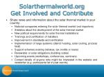 solarthermalworld org get involved and contribute