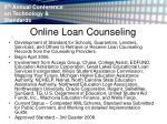 online loan counseling