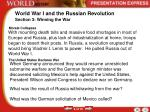 world war i and the russian revolution2