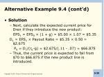alternative example 9 4 cont d1