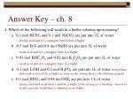 answer key ch 81