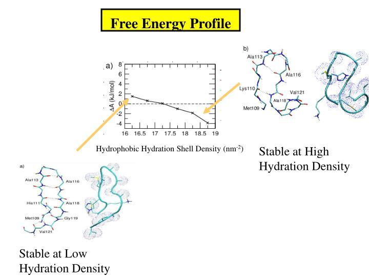 Free Energy Profile