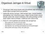 organisasi jaringan virtual