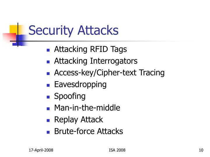 Security Attacks