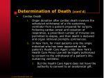 determination of death cont d5