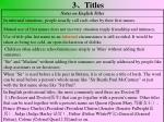 3 titles1