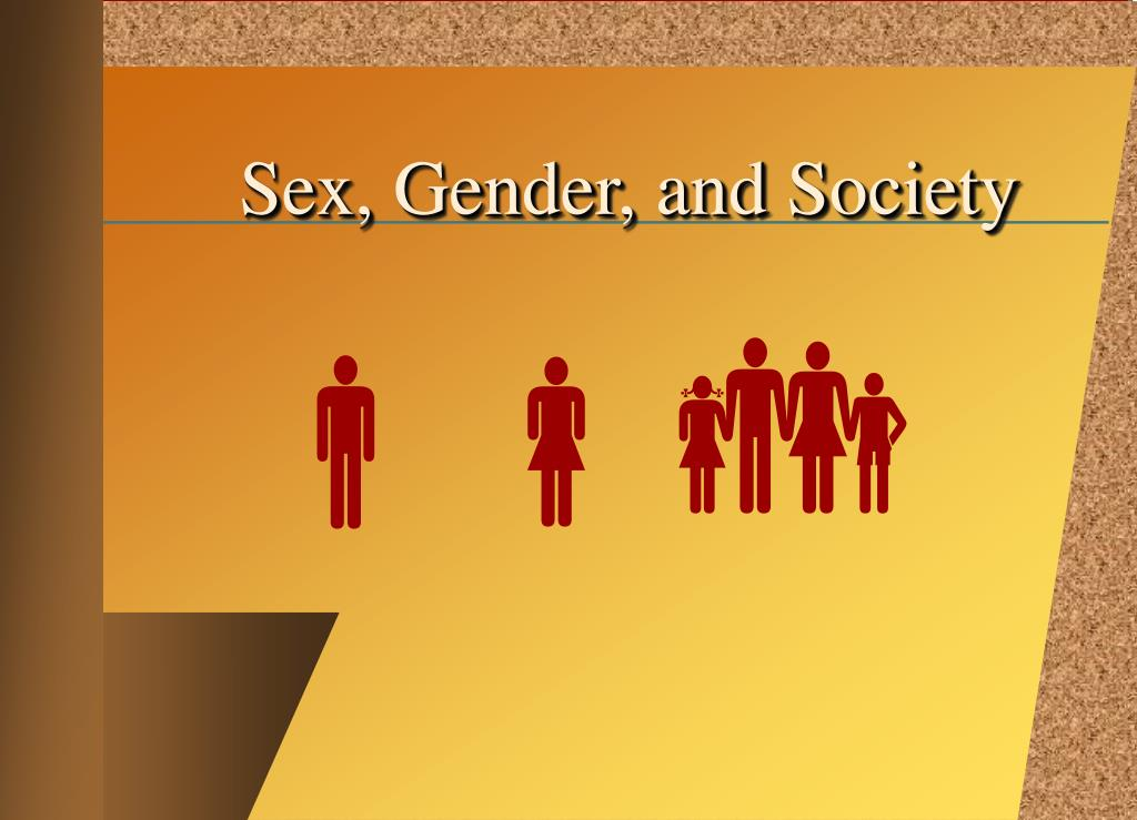 Sexuality and society ppt