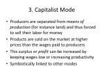 3 capitalist mode
