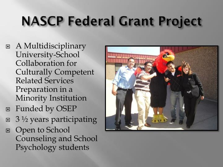 NASCP Federal Grant Project