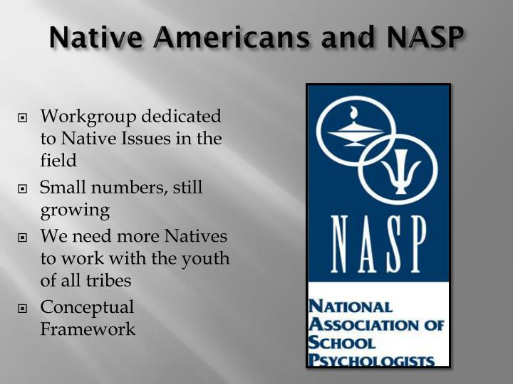 Native Americans and NASP